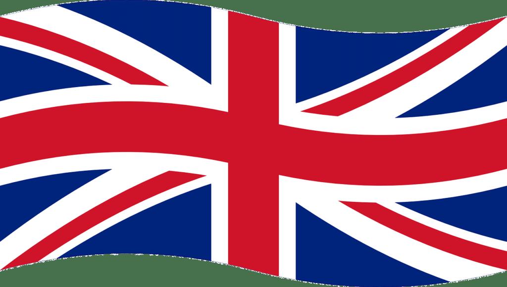 babysitter bilingue : drapeau de l'Angleterre