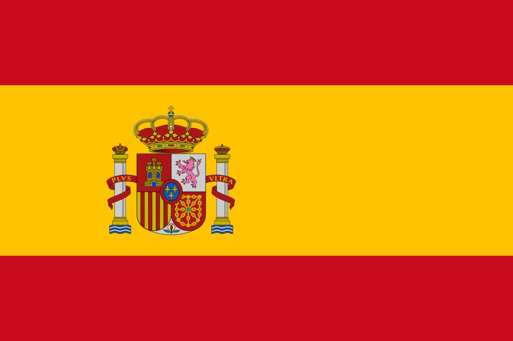 babysitter bilingue : drapeau de l'Espagne