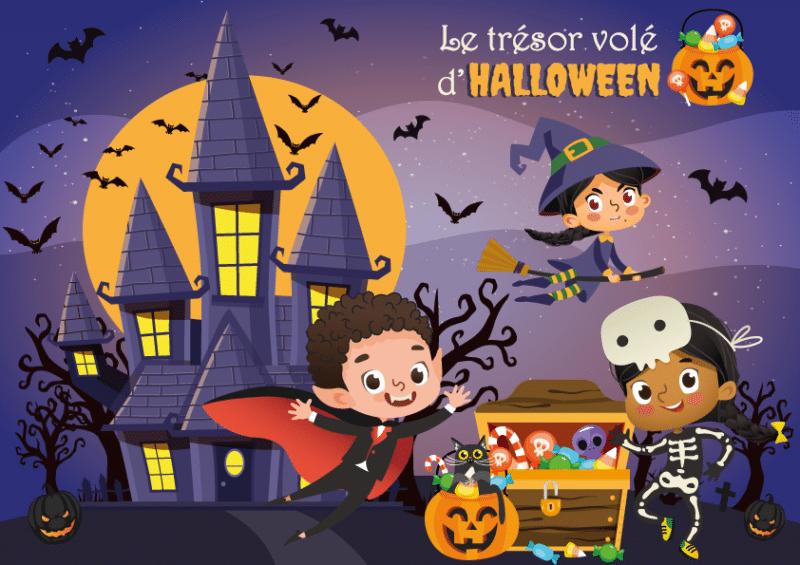 Chasse au trésors halloween
