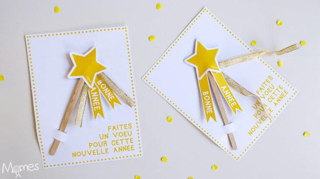 cartes de vœux pour noël et nouvel avec une étoile
