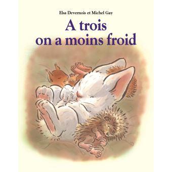 à trois on a moins froid, livre pour enfants, Top Livres pour enfants