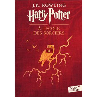 Harry Potter - Tome 1 : Harry Potter à l'école des sorciers de J.K. Rowling, Top Livres pour enfants