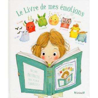 Le livre de mes émotions de Stéphanie Couturier Top Livres pour enfants