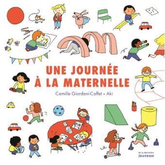 Top Livres pour enfants une journée à la maternelle