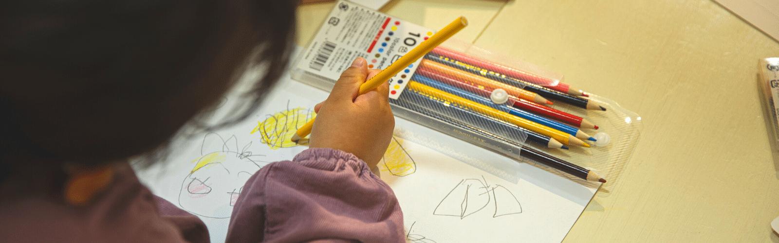 Dessin enfant : comment apprendre le dessin aux 2 – 5 ans ?