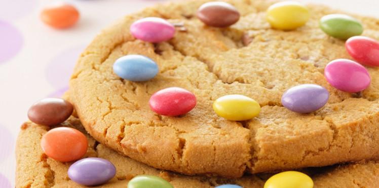 Recettes cookies maison smarties pour enfants