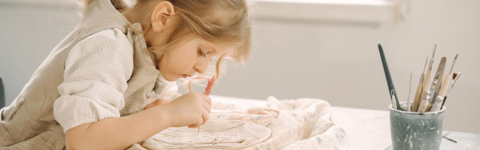 Activité enfant 6 ans et plus : initiation à la poterie