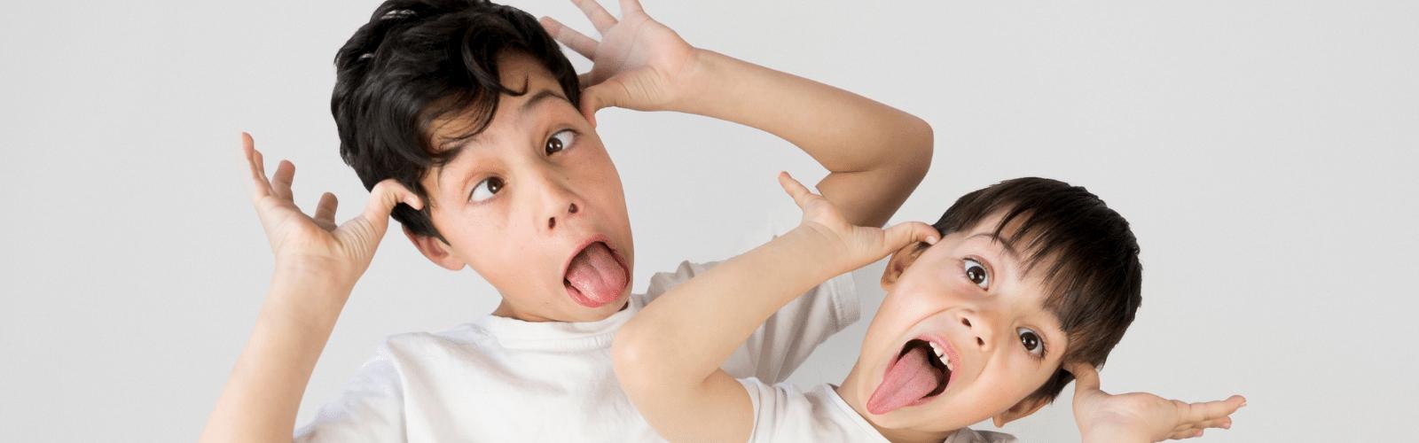 Activité enfant de 2 ans et plus : atelier de drôle de visages