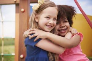 Garde partagée : Une amitié qui se créer entre les enfants