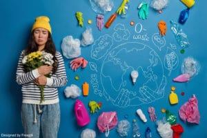l'écologie expliquée aux enfants : une fille qui se sent mal pour la planète
