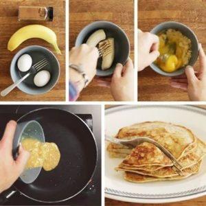 Pancake 2 ingrédients