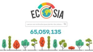 étudiant éco-responsable : écosia