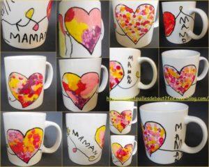 Cadeau fête des mères DIY : un mug customisé spécialement pour maman