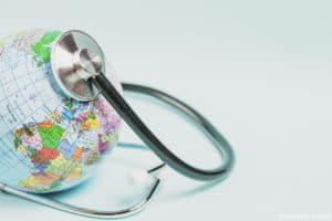 écologie définition : un globe terrestre