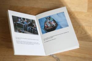 Un roman photo imprimé