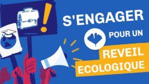 étudiant éco-responsable : pour un réveil écologique