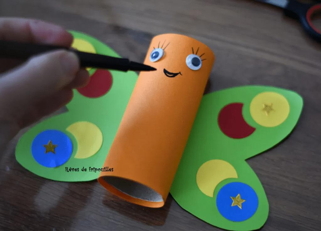 Bricolage printemps papillon