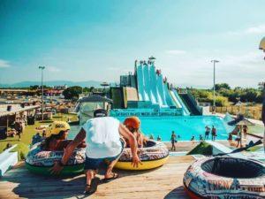 Parc d'attraction aquatique le Frenzy Palace