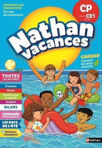 Nathan vacances - CP vers le CE1