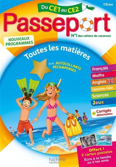 Cahier de vacances : Passeport