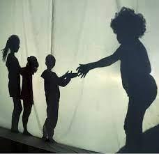 jeux en plein air : théâtre d'ombres