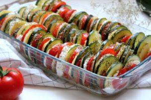 recette été : Tian aux légumes
