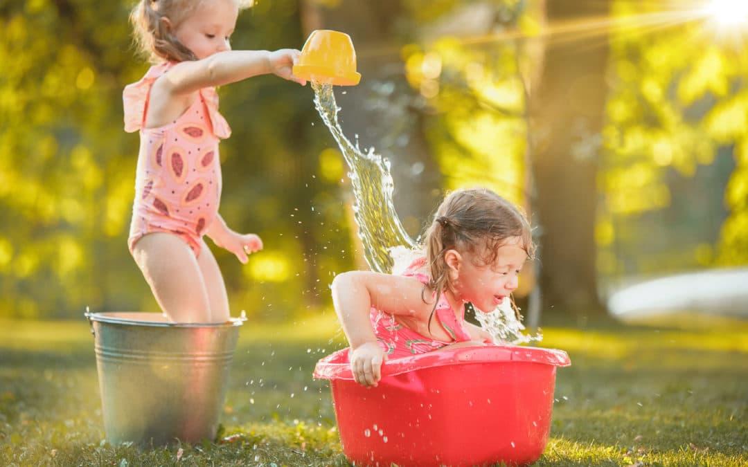 Jeux d'eau : 6 supers idées pour rafraichir les enfants