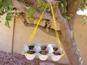 Activités écologiques : Mangeoire oiseau
